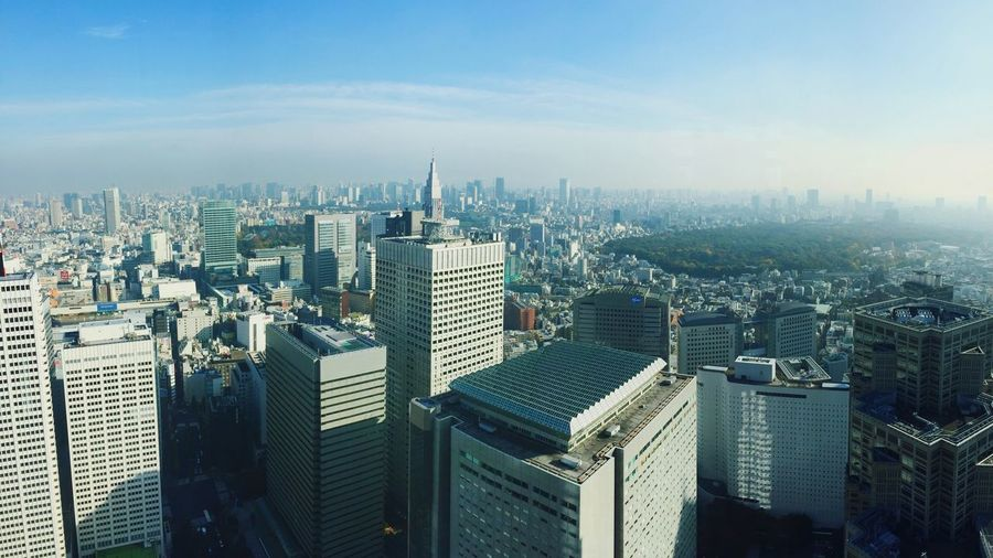 Japan Tokyo Tokyo Metropolitan Government Building Japan Photography Japan Scenery Scenery EyeEm Best Shots Hello World Check This Out Sky And Clouds From My Point Of View Landscape Landscape_photography Getting Inspired Beautiful Beautiful View Photography Sky EyEm Best Shots - Landscape