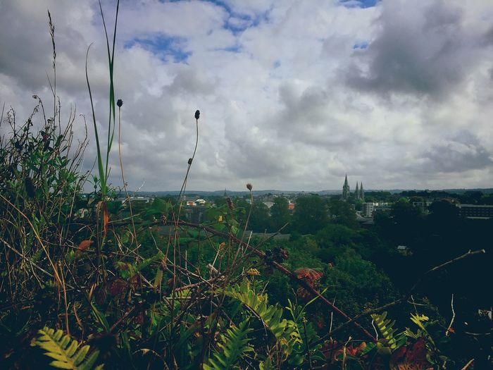 Capture The Moment Cork City View With Awesome Cloudness