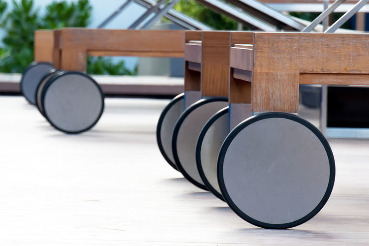 Circle Close-up Focus On Foreground Furniture Design Harmony Nature No People Outdoors Repetition Wood - Material