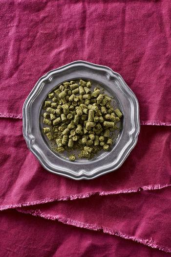 Brewing Beer Green Color Hope IPA Pink Brewing Contrast Dried Dry Flavor Hops Ingredient Magenta Pellet Pellets Pink Color Pungent Textile
