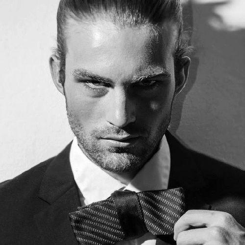 Men Fashionshooting  Fashion BeW milan model modelagency messina usa smoking blonde pieropandolfino