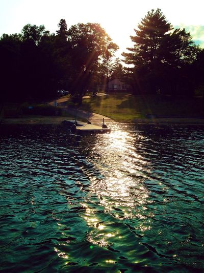 Spider Lake Minneosta Lake Camping Sunset Cabin Dock Spider Lake Seasonals EyeEmNewHere EyeEmNewHere