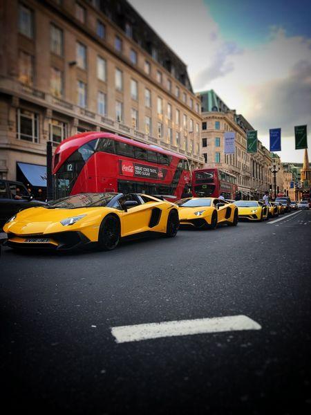 Regentstreet LamborghiniLovers Lots Of Fun Price Tag Car Yellow Londonlife