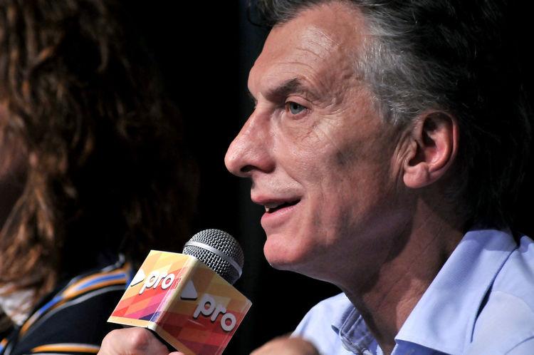 Argentinian President Close-up Focus On Foreground Goverment  Macri Mauricio Macri Politician President Pro