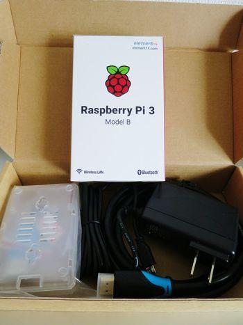 オモチャを買ったが、弄る暇がないなぁ~ Raspberry Pi