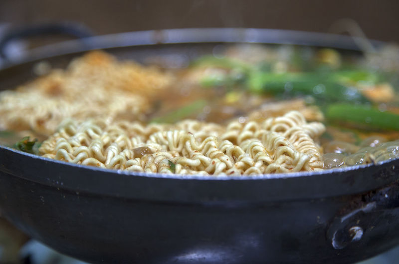 Close-Up Of Ramen In Bowl