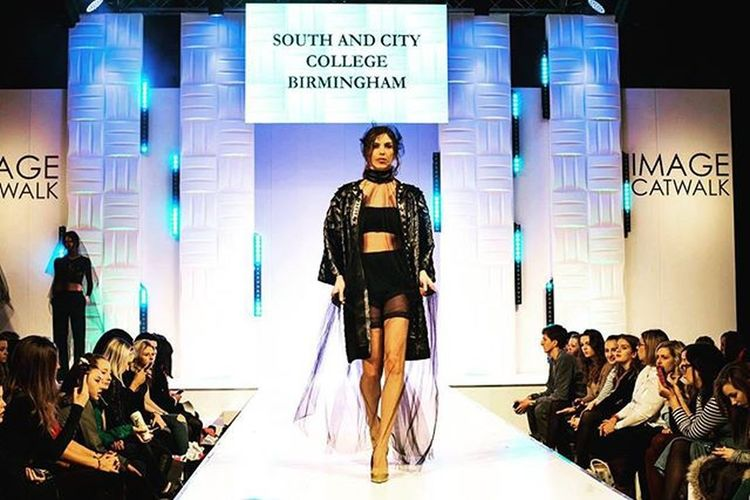 Another one from the Image catwalk at the Clothes Show 2015 - Catwalk ClothesShowLive Model Imagecatwalk Birmingham Fashion Southandcitycollege Crowd Fashionphotography Claraparisiphotography
