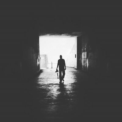 Walking into the Darkness Lifeofagoodboy Sanfrancisco Goldengate