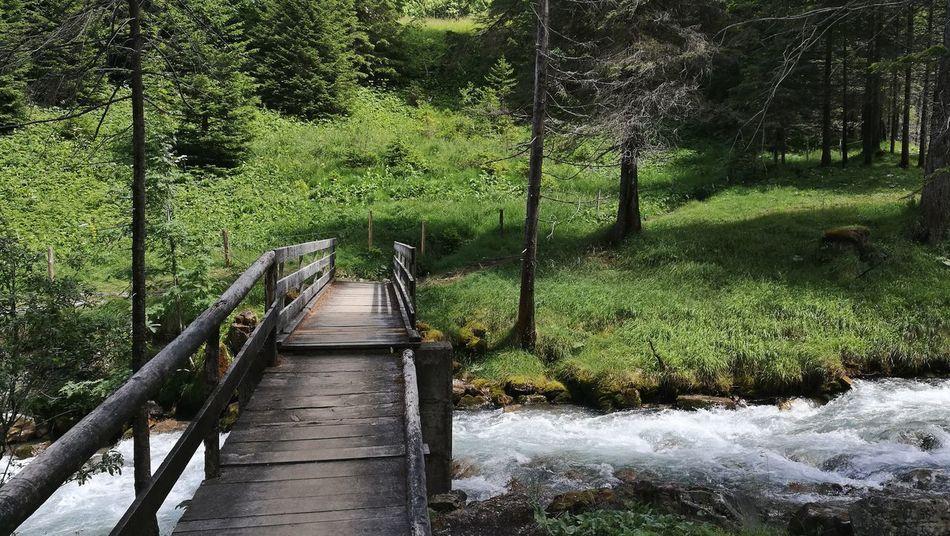 Breathing Space Bridge The Way Forward River Water Beauty In Nature Nature Alps Alpine Alpine Hiking Die Schweiz Switzerland 🇨🇭 Switzerland The Week On EyeEm 2017 August Odin Been There.
