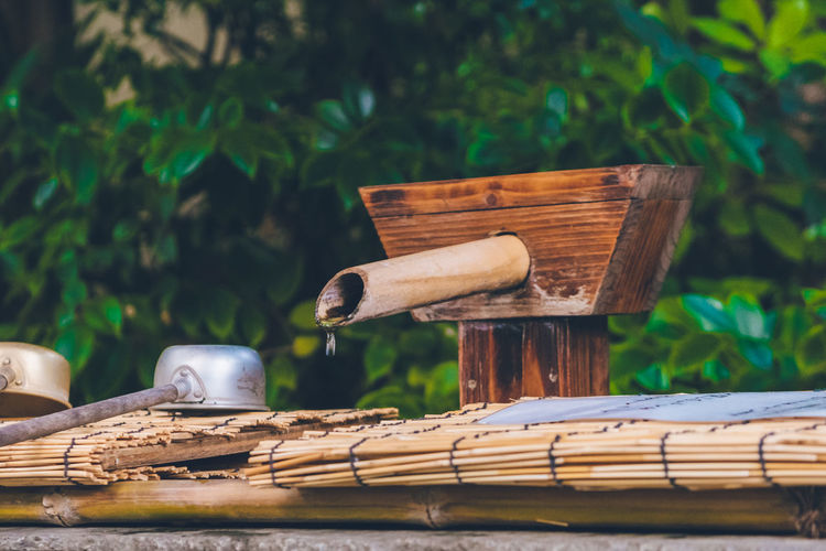 Shrine Shinto Shrine Temple Tree Water Rural Scene Agriculture Wood - Material Irrigation Equipment Rice Paddy Watermill Asian Style Conical Hat Water Wheel
