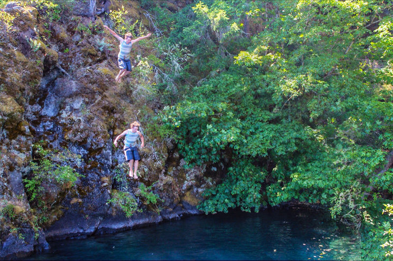 All you have to do is jump.. - Devil's Punchbowl, Lake Crescent WA Live For The Story One Person Leisure Activity Lifestyles Men Real People Beauty In Nature Outdoors Canonphotography Outdoor Photography The Great Outdoors - 2017 EyeEm Awards Rock Jumping Adrenaline Junkie Summertime Summer 2017 Summertime Fun Summer Memories...