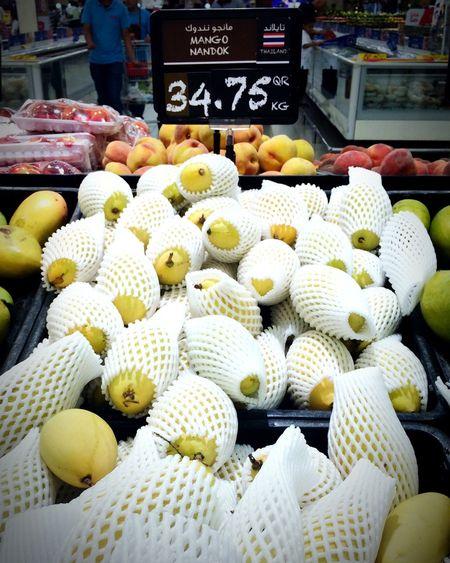 "Mango from Thailand Wrong Spelling it is ""Nam Dok Mai"" Homesick  Thai Fruit"