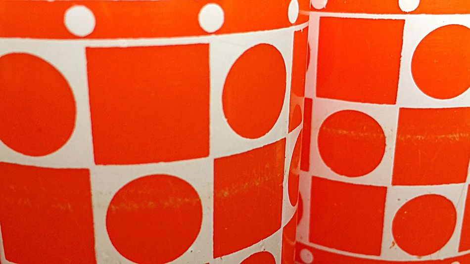 Backgrounds Background Red White Orange 60s 60s Style 60s Fashion Abstract No People Plastic Pop Pop-art