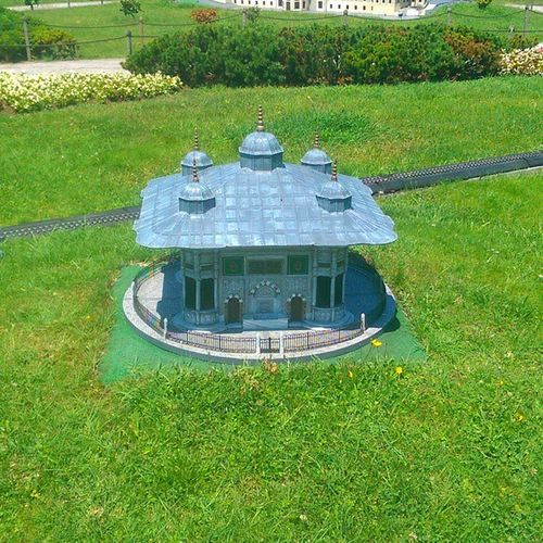 Ucuncuahmetcesmesi Çeşme Ahmet3 Fountain sultanahmed fatih istanbul architech mimari art miniature miniaturk maket model travel museum kagithane
