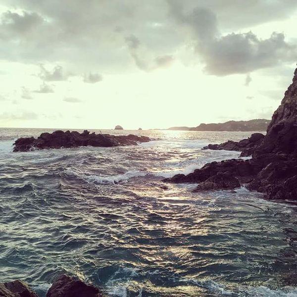 👌💕🌊🌅 Relaxing Sunshine Ocean Beautiful Hello World Taking Photos Asome Naturelovers Nature Photography Sea