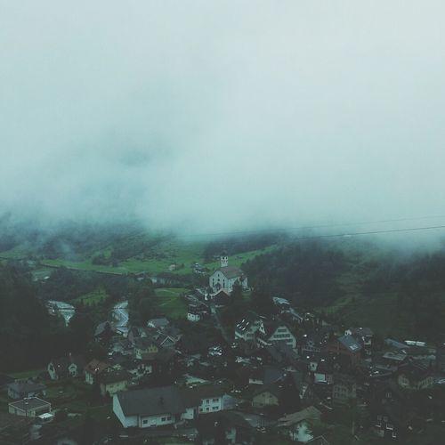 Fog Tessin And I