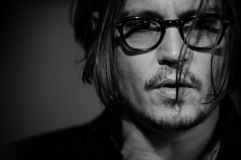 Johnny Depp Self Portrait Handsome Model