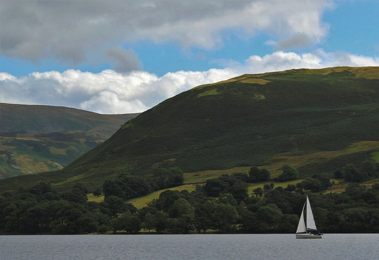 Lake District Lake District National Park Lake District Photography Ullswater Beauty In Nature Cloud - Sky Day Landscape Mountain Mountain Range Nature No People Outdoors Scenics Sky Tranquility Water
