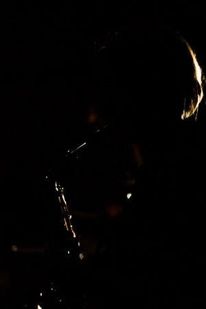 Band Saxophone Saxophone Girl Sillouette