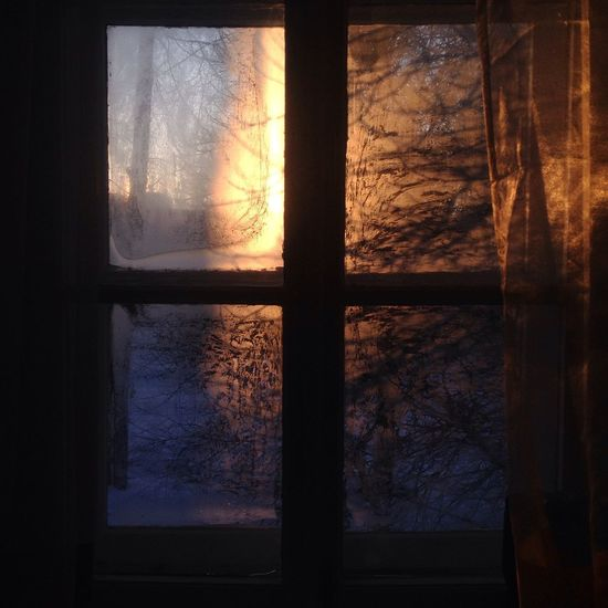 Winter morning Winter Morning Window Frosted Windows Window Winter Sunrise Through Window Sunset Through The Window Frosted Glass