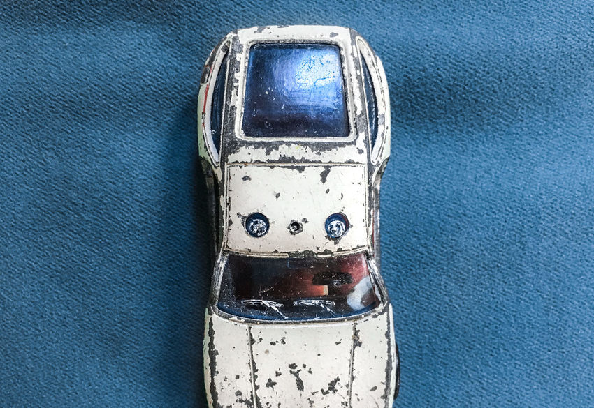 The old Car II Blue Car Close-up Damaged Dirty Emergency Light Geometric Shapes Metal No People Old Car Police Toy Car The Photojournalist - 2017 EyeEm Awards The Still Life Photographer - 2018 EyeEm Awards
