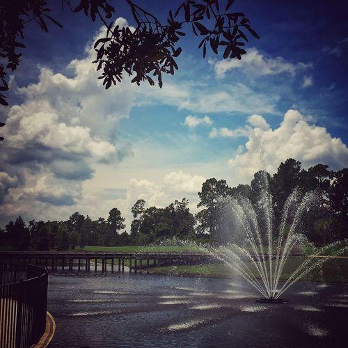 Fountain golf course Orlando Hilton