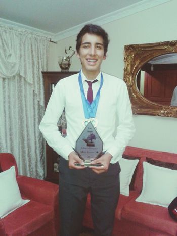 Campeon Oratoria Senioryear2014 Ecuador
