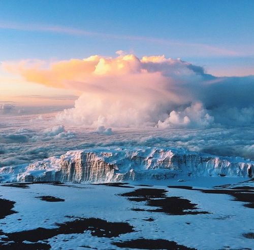 Travel 7summits Above The Clouds Myhobby MountainClimber Seven Summits My Journey  Traveling Traveler