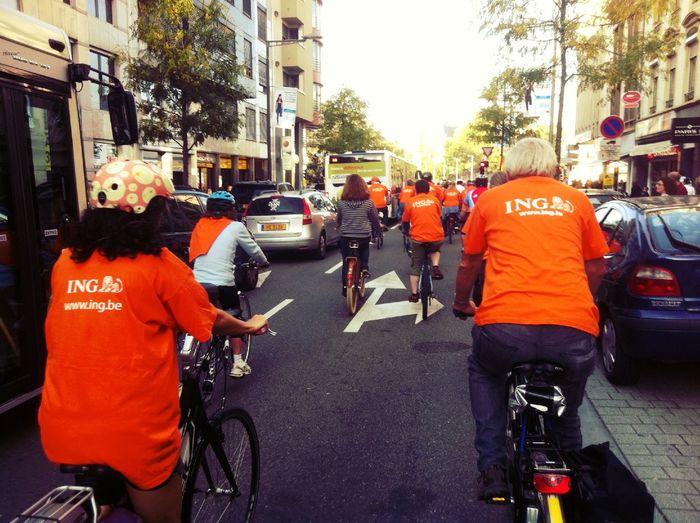 Orange Biking Days
