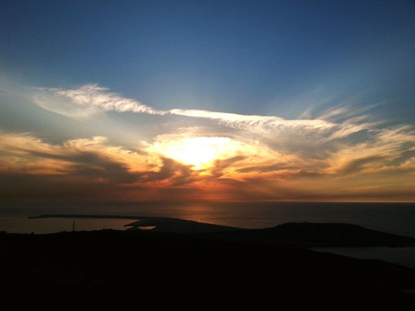 A Coruña Night Lights Anocheciendo Light And Shadow Lightandshadow