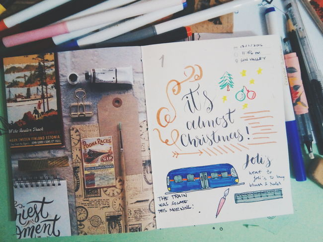 I love turning moments to memories, so I kept all the beautiful moments of my life in my journals. Photography Journaling Flatlays Vscocam VSCO December 2016 First Eyeem Photo