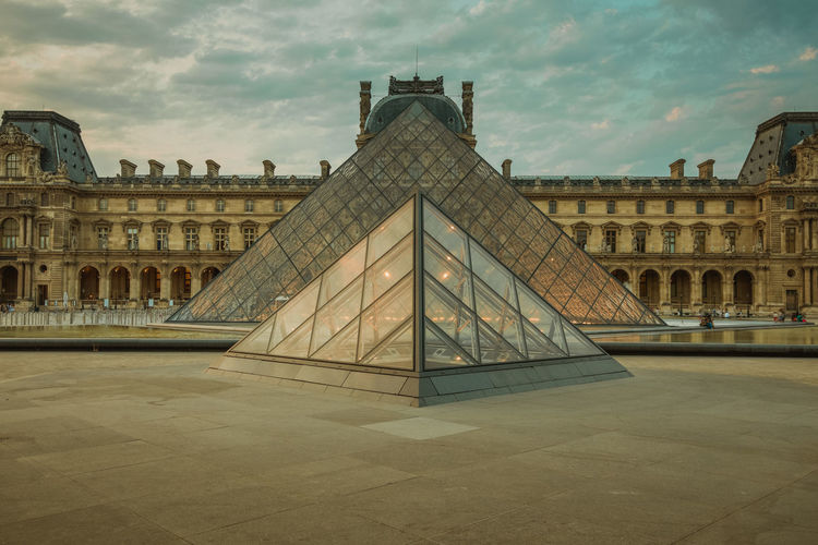 louvre History Built Structure Building Exterior Travel Destinations Architecture No People King - Royal Person Pyramid Tourism Travel Town Square