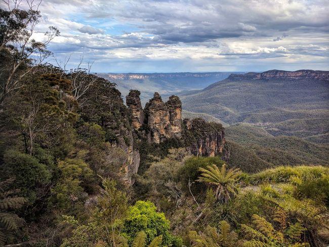 Katoomba, NSW, Australia, Mountain Nature Outdoors Scenics Australia Blue Mountains Landscape Epicshots Iconic Places Iconic Landscape