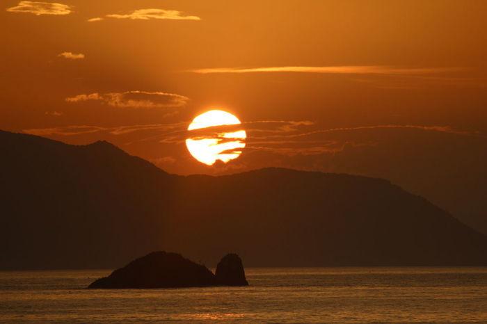 Tirebolu Tripolis Karadeniz Blacksea Beautiful Sunset Travel Mountain Landscape Sun Rock - Object Beauty Nature