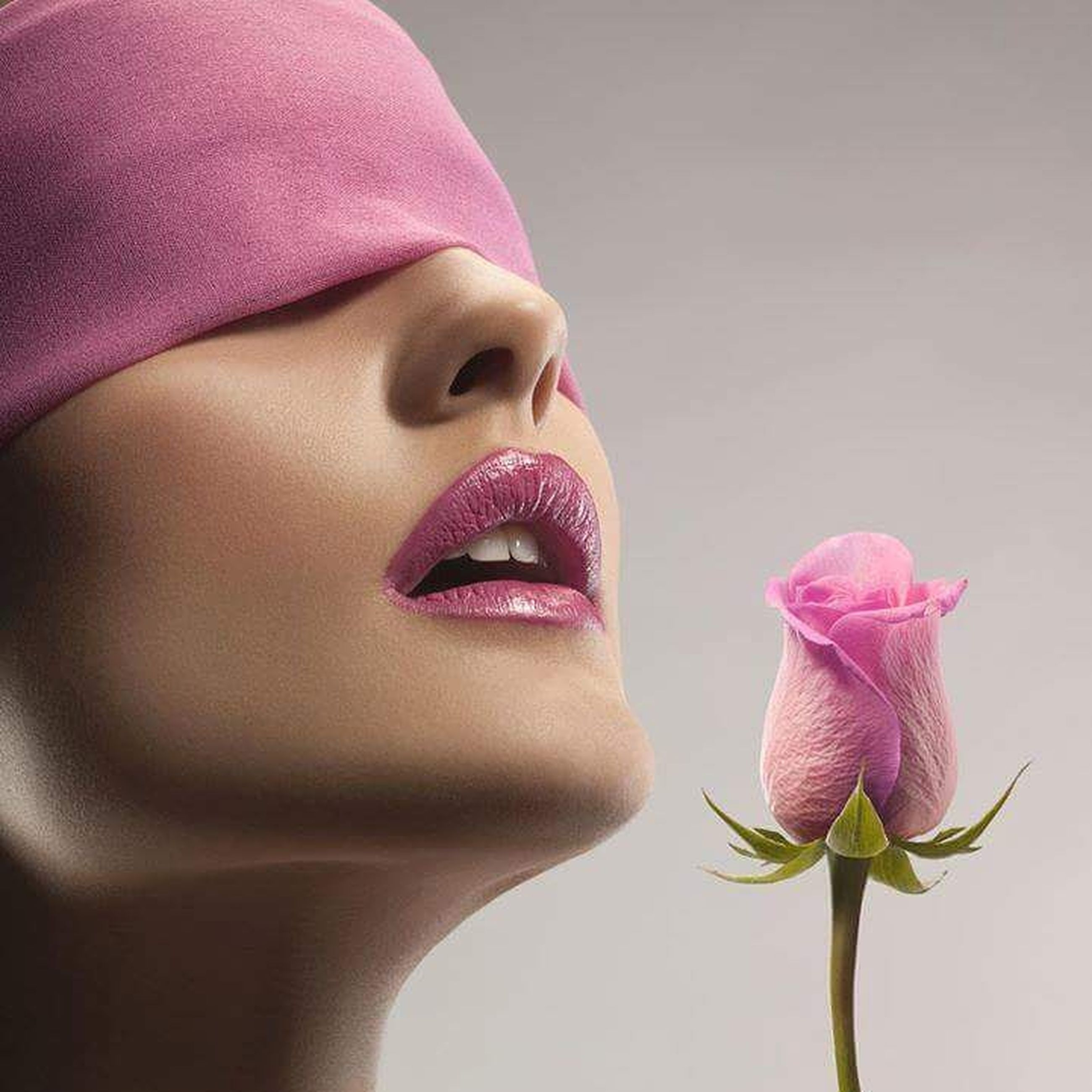 pink color, beauty, beauty product, one woman only, only women, one young woman only, lipstick, human body part, human face, beautiful woman, young adult, make-up, human lips, adults only, purple, close-up, adult, females, one person, people, indoors