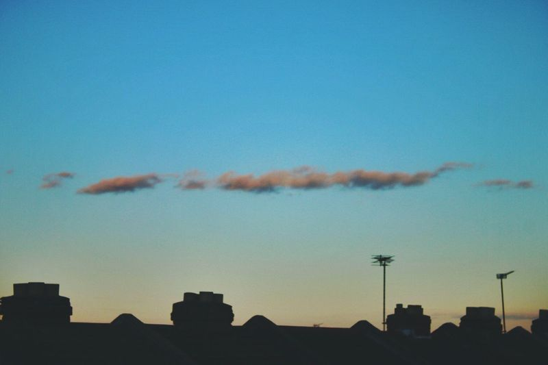 Will-o-wisp 〰 Canon Canonphotography Lofi Streetphotography Deceptively Simple Roof Sky Afterlight Cloud Evening Evening Sky