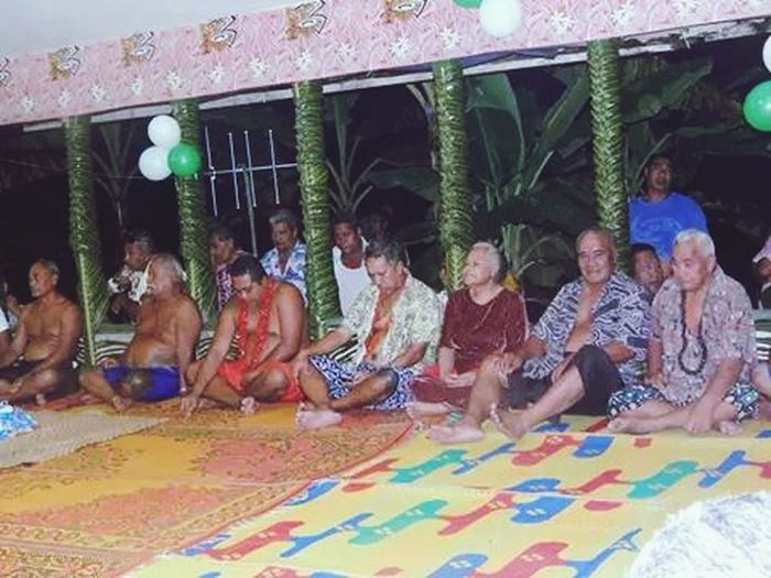 Samoa  Samoan Culture Grandmother Village Meeting
