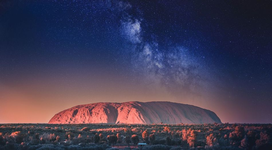 Night Astronomy Illuminated Sky Long Exposure Star - Space Outdoors Nature Beauty In Nature Scenics Clear Sky No People Constellation Wire Wool Galaxy Ayers Rock Uluru
