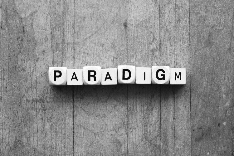 Paradigm Communication Concept Ideas Language Paradigm Paradigmshift Text Thoughts Words In The Wild