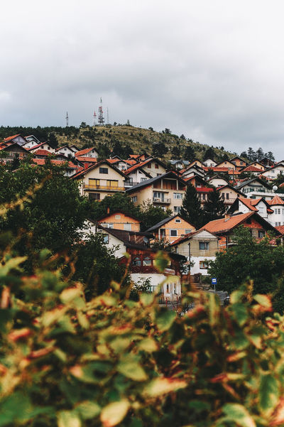 BIH Bosnia And Herzegovina Architecture Bosnia Building Exterior Built Structure City Cityscape Cloud - Sky Day High Angle View House Nature No People Outdoors Residential Building Roof Sarajevo Sky Tilt-shift Town Tree Water