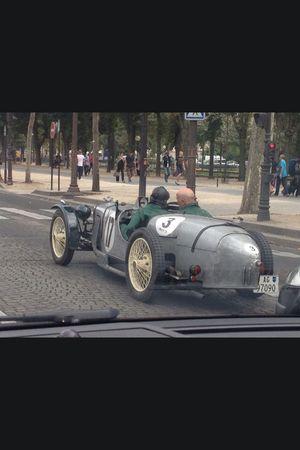 Car Old Car Champselysées Paris