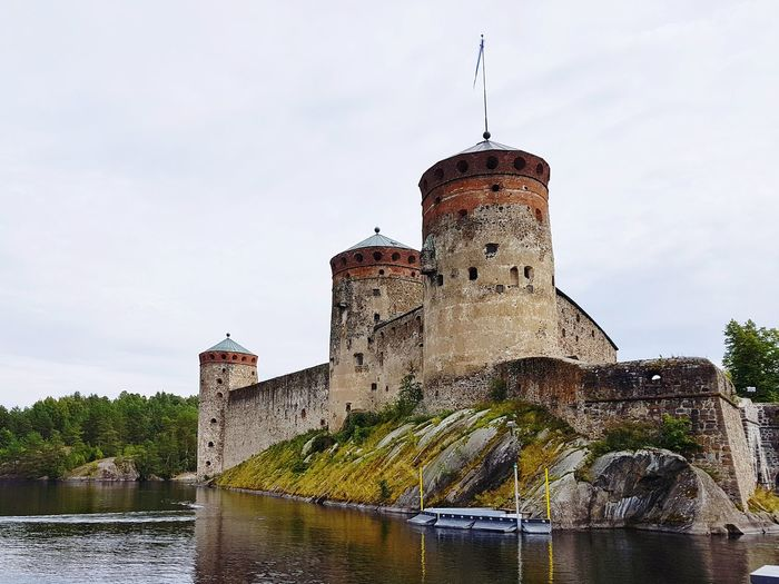 Architecture History Business Finance And Industry Building Exterior Built Structure Castle Water No People Outdoors Day Sky Politics And Government Fortress Finland Nature Beautiful Summer Reflection Savonlinna Opera House Lake History Of Arts Skyline Suomi Suomi100