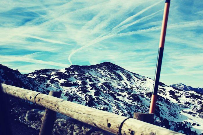 Mountain Snow Sky Blue Clouds Beautiful Hollidays Calm Grandiose Altitude