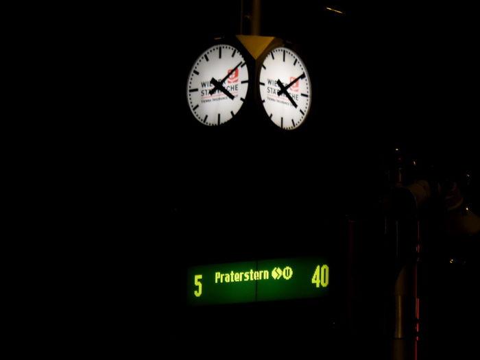 The Purist (no Edit, No Filter) Vienna Night Travel