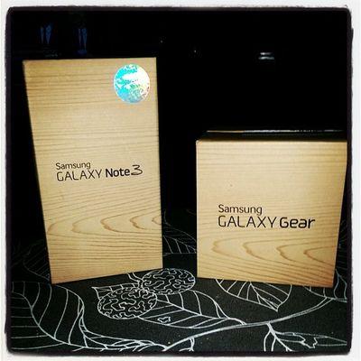 Skojiga saker på en måndag! Galaxynote3 Galaxygear