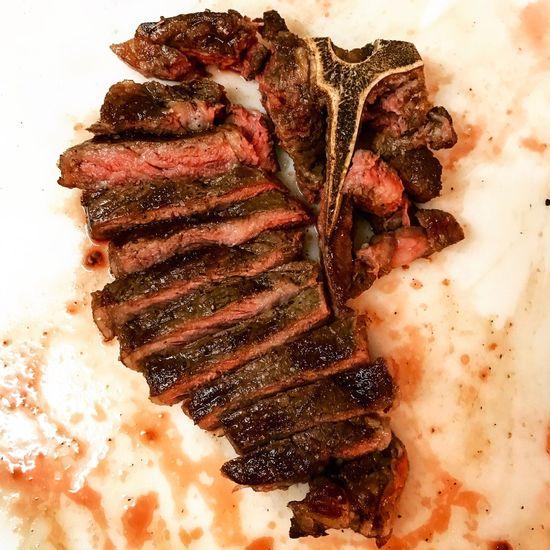 T-bone Steak Sousvide Seared Reverse Sear Beef Food No People USDA Prime Dry-aged Tbonesteak Sliced Juicy Cooking Meat