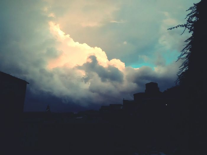 Sky And Clouds Scary Sky God Is Watching Us Before The Storm