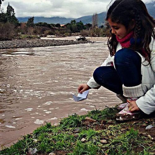 Rio Laligua EnergiasPositivas Mi bendición con patitas :'D