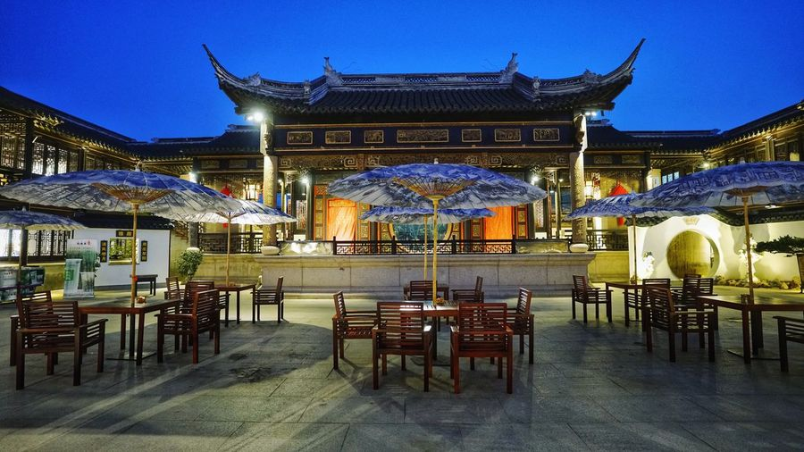 Zhouzhuang Architecture Built Structure Travel Destinations Building Exterior China Stage Historical Building
