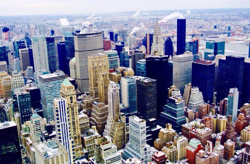 Winter in New York. The Traveler - 2015 EyeEm Awards
